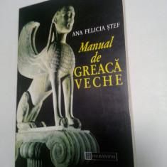 MANUAL DE GREACA VECHE - ANA FELICIA STEF