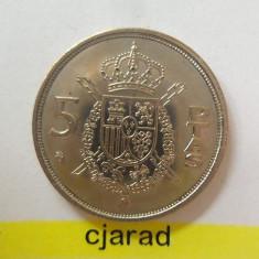 Moneda 5 Pesetas - Spania 1984 *cod 1396 a.UNC, Europa