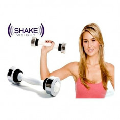 Gantera Shake Weight femei, Greutate (kg): 5, Gantere