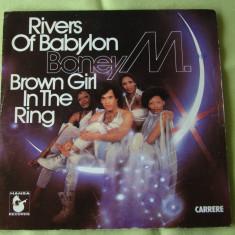 BONEY M - Rivers of Babylon/Browng Girl In The Ring - Single Vinil