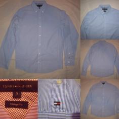 Camasa TOMMY HILFIGER (S) maneca lunga Bluza Cardigan Pulovar Barbati - Camasa barbati Tommy Hilfiger, Marime: S, Culoare: Din imagine