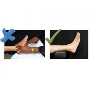 Suport Pedichiura Picior Scaun Picioare Mobilier Salon Reglabil Inaltime