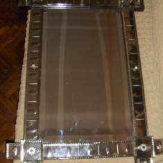 Oglinda veche din cristal venetian