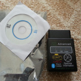 Interfata diagnoza ELM 327 HH OBD v2.1 Advanced Bluetooth - Interfata diagnoza auto