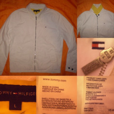 Geaca TOMMY HILFIGER (L) barbati casual jacheta - Geaca barbati, Marime: L, Culoare: Din imagine
