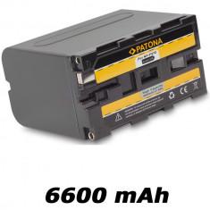 PATONA | Acumulator compatibil Sony NP-F970 NPF970 NP F970 | 6600 mAh - Baterie Aparat foto PATONA, Dedicat