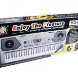 Orga electronica cu USB functie inregistrare radio FM cu 61 de clape