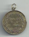 MEDALIE ROMANIA : SCOALELE din BUCOVINA -1933 [2]  VIZITA M.S. REGELUI  CAROL II