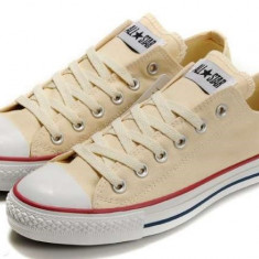 Tenisi / Tenesi Converse All Star CREM marimi 39 / 40 Lichidare Stoc! - Tenisi dama Converse, Textil