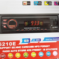 Player Auto cu Mp3 si Radio fm -USB / SD, 4 X50 W - CD Player MP3 auto Crunch
