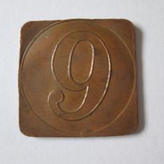 JETON COLECTIE 9 PATISSERIE/CONFISERIE ANII 30 - Jetoane numismatica, An: 1930