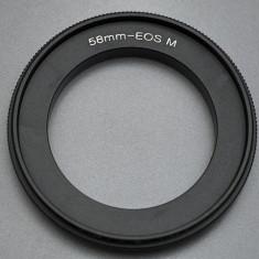Canon EOS M - 58mm Inel inversor macro