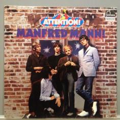 Manfred Mann - Attention - Best of(1971 / Fontana Rec/ RFG ) - Vinil/Vinyl/Rock - Muzica Rock universal records