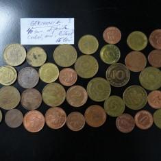 Monede Straine Diferite - 40 Bucati - Germania I, Europa