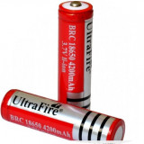 SET 2 Baterie / Acumulator Li- Ion Ultrafire 4200 Mah