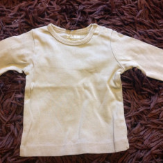 Bluzita de corp, bluza copii, 2-6 luni. H&M, unisex, 56-62 cm, khaki