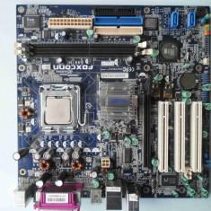 Placa de baza Foxconn 6497MC DDR1 PCI Express socket 775, Pentru INTEL, LGA775, Contine procesor, MicroATX