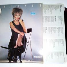 Disc vinil / Lp -Tina Turner - private Dancer / EMI 1983 - Muzica Pop arista