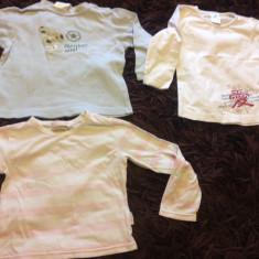 Set de trei bluzite pentru copii, unisex, 86-92 cm, 1-3 ani, de casa, interior, Culoare: Din imagine