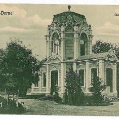 1506 - Bukowina, Suceava, Vatra Dornei, Izvorul Ioan - old postcard - used 1923 - Carte Postala Bucovina 1904-1918, Circulata, Printata