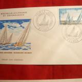 Plic FDC - A 3a Croaziera Whangazei Noumeea, stampila Noua Caledonie
