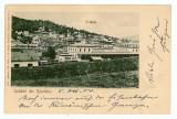 455 - PREDEAL, Brasov, Railway Station - old postcard - used - 1904, Circulata, Printata