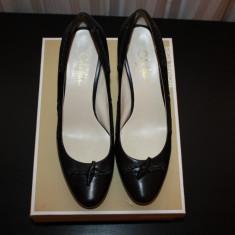 Pantofi piele COLE HAAN nike air mar 40 sua - Pantof dama Cole Haan, Culoare: Negru, Piele naturala