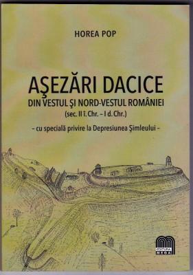 Asezari dacice din vestul si nord-vestul Romaniei (86asezari ) Horea Pop foto
