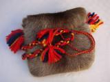 Geanta traditionala finlandeza din piele naturala de ren