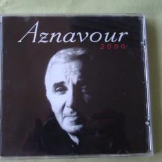 CHARLES AZNAVOUR - Aznavour 2000 - C D Original ca NOU