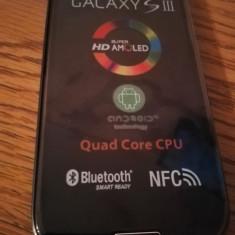 Samsung Galaxy S3 i9300 NEGRU/ALB / NOU / BONUS FOLIE STICLA, 16GB, Neblocat
