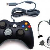 Controller + Casti (microfon) Xbox 360 TM23