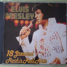ELVIS PRESLEY - 18 Greatest Rock'N Roll Hits - C D Original ca NOU - Muzica Rock & Roll