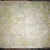 2 Ex. Ghidul Turistului -25 Harti 48x31 cm Litografii- M.Moldoveanu, interbelica