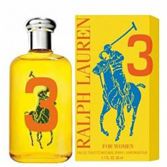 Ralph Lauren Big Pony 3 For Women EDT Tester 100 ml pentru femei - Parfum femeie Ralph Lauren, Apa de toaleta