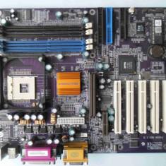 Placa de baza ECS P4S5A rev 1.5 DDR1 AGP socket 478, Pentru INTEL, ATX