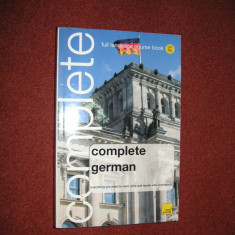 Curs germana - Complete german - prin limba engleza - teach yourself - Curs Limba Germana