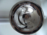 Cumpara ieftin Fructiera din alama argintata,marcata, Inalterabile 1000/1000, made in Italy