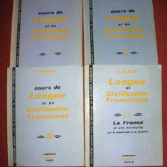 G. Mauger - Langue et civilisation francaises (4 volume)