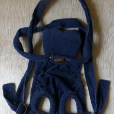 Marsupiu / port bebe Easy Rider; maxim 7 kg; impecabil - Marsupiu bebelusi, 1-3 ani, Albastru