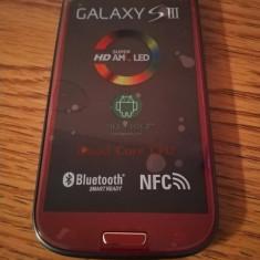 Samsung Galaxy S3 i9300 ROSU / NOU / LIVRARE CU VERIFICARE