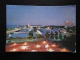 SEPT15-Vedere/Carte postala-Mamaia-vedere nocturna-circulata, Printata