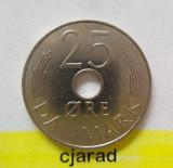 Moneda 25 Ore - DANEMARCA, anul 1974 *cod 1471, Europa
