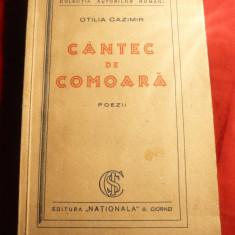 Otilia Cazimir - Cantec de Comoara - Prima Ed. 1931