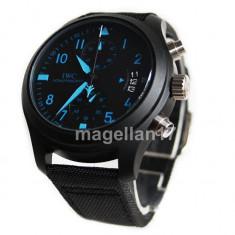 IWC Schaffhausen Pilot's Watch Spitfire Chronograph ! ! Cea Mai Buna Calitate ! - Ceas barbatesc Iwc, Lux - elegant, Quartz, Inox, Piele, Cronograf