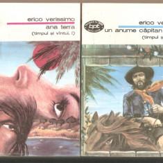 Erico Verissimo-Ana Terra-Un anume capitan Rodrigo*2 vol., 1993