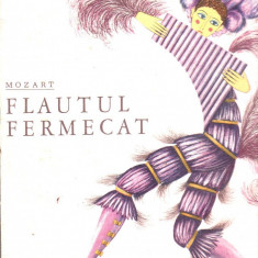 Vinil - Mozart - Flautul fermecat, electrecord