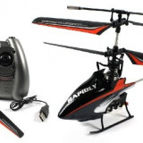 PROMO! ELICOPTER SERIE F PROFESIONAL 4 CANALE, ZBOR 4D, INCARCARE USB, METALIC, GYRO - Elicopter de jucarie, Unisex