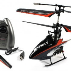 PROMO! ELICOPTER SERIE F PROFESIONAL 4 CANALE,ZBOR 4D,INCARCARE USB,METALIC,GYRO