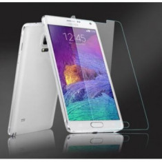 Geam pentru protectie display Usams Samsung Galaxy Note 4 N910F Transparent - Folie de protectie Oem, Sticla